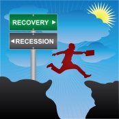 emerging from a recession