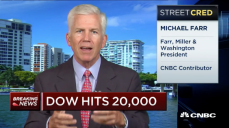 Cash In: Dow 20k Has Staying Power, January 25, 2017 | 12:00 PM ET